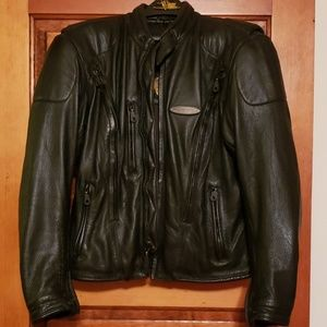Harley Davidson FXRG genuine leather jacket